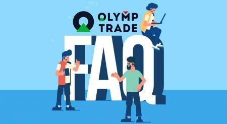 Domande frequenti (FAQ) su verifica, deposito e prelievo in Olymp Trade