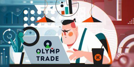 Come aprire un conto di trading e registrarsi su Olymp Trade