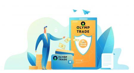 Come aprire un conto e depositare denaro su Olymp Trade