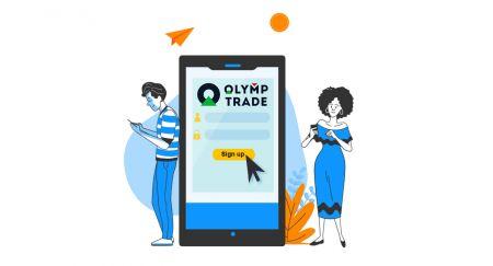Come creare un account e registrarsi con Olymp Trade