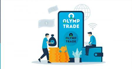 Come registrarsi e prelevare denaro su Olymp Trade