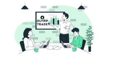 Come registrarsi e iniziare a fare trading con un conto demo in Olymp Trade