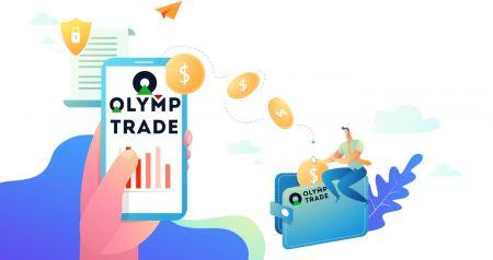 Come accedere e prelevare denaro da Olymp Trade