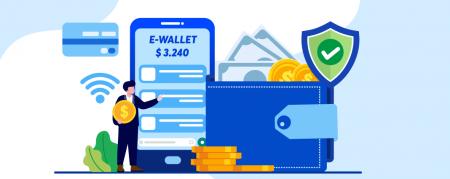 Quali sono i vantaggi dell'utilizzo di un e-wallet su Olymp Trade